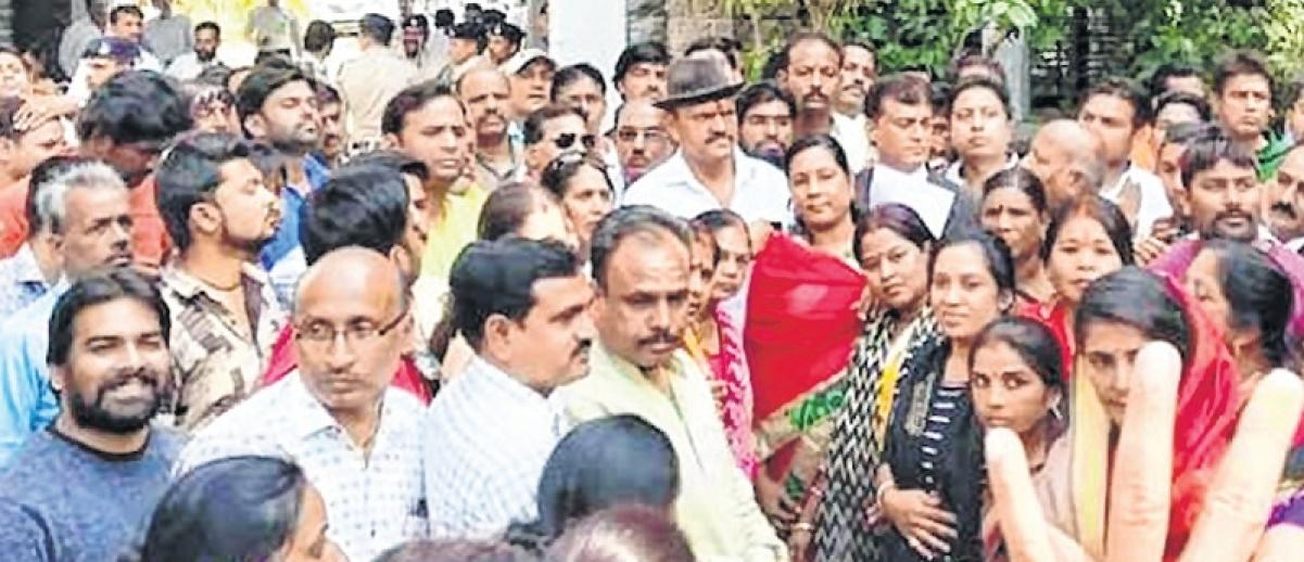 BJP, Congress workers clash, 2 hurt