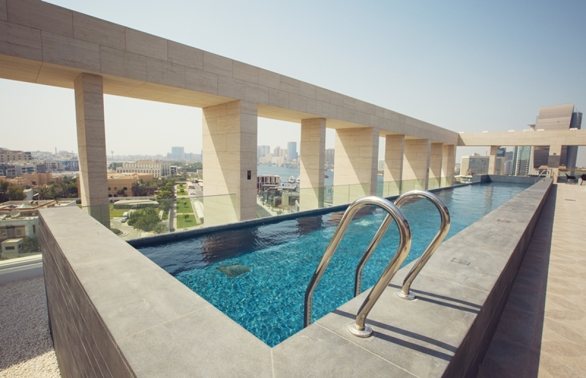 Chill and relax at the rooftop pool/ PICS: Zabeel House Al Seef by Jumeirah