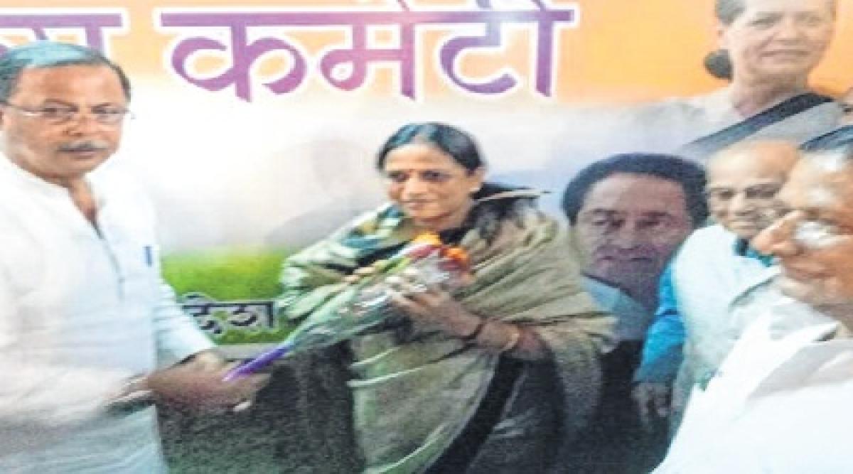 BJP MLA Pramila Singh joins Congress