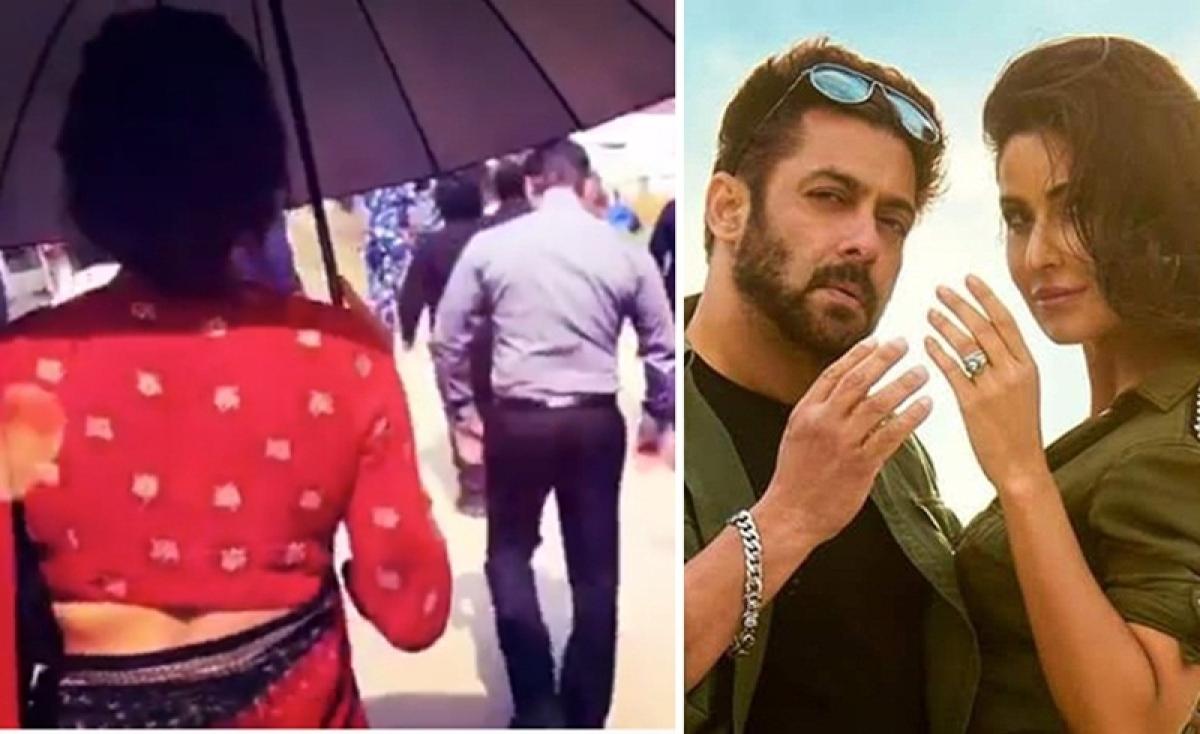 Bharat: Salman Khan and Katrina Kaif don Retro look for their upcoming blockbuster; Watch Video