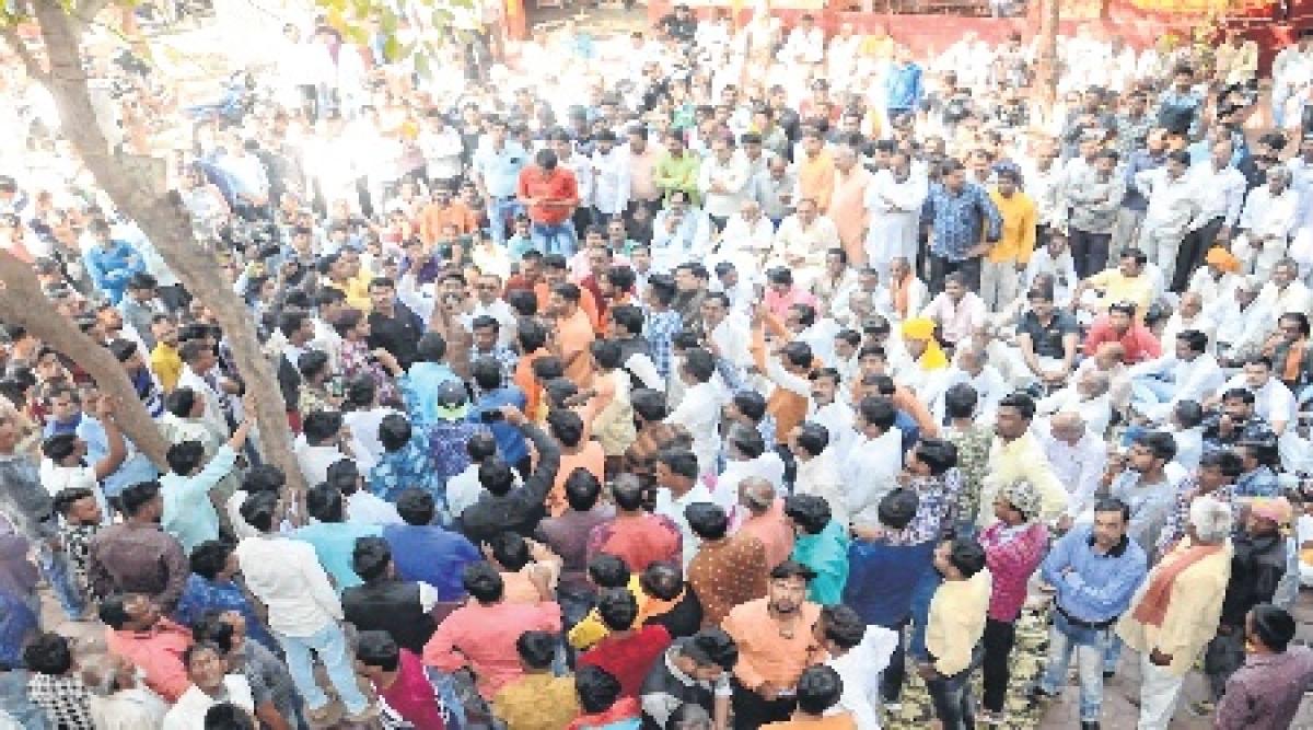 Ujjain: Jitendra Pandya's supporters irked over Sanjay Sharma's nomination from Barnagar