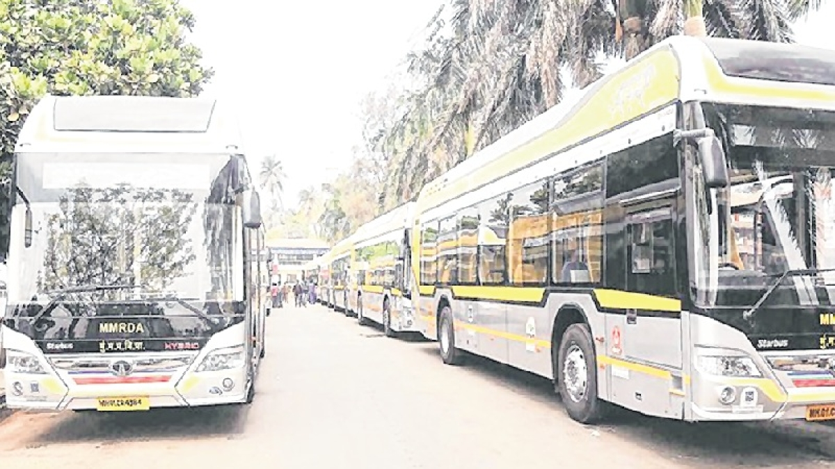 In BKC, hybrid AC buses run at a monthly loss of Rs 1 crore