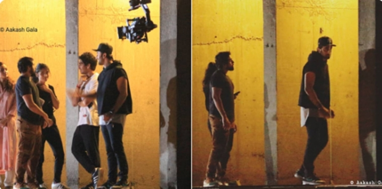 LEAKED 'Brahmastra' Pictures: Ranbir Kapoor and Alia Bhatt spotted filming an action sequence