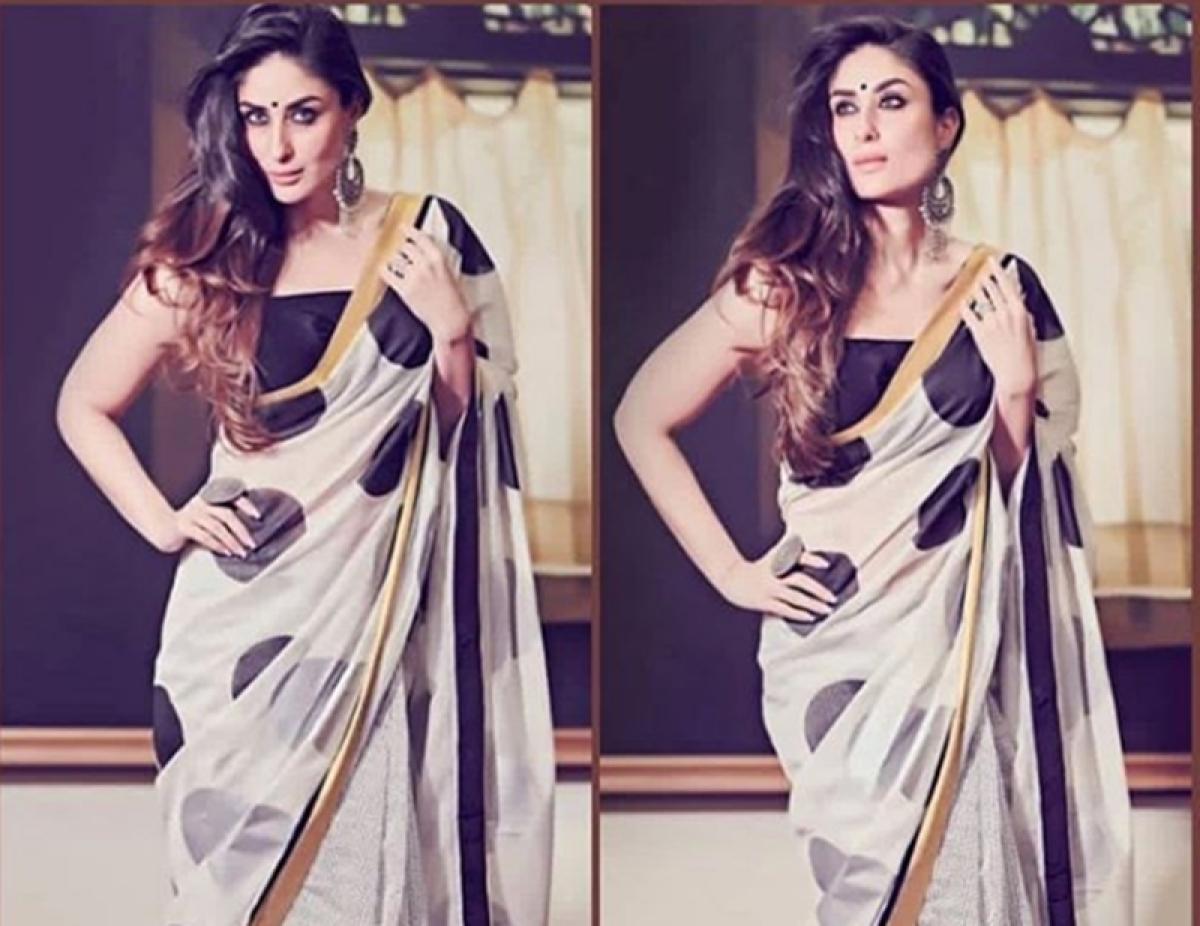 Whoa! Kareena Kapoor Khan's saree costs the same as a flight ticket to Paris