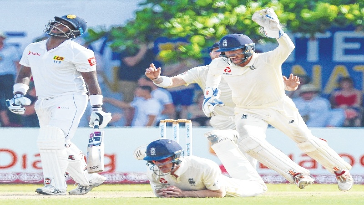 England vs Sri Lanka Test:Ben Foakes and spinners put England on top