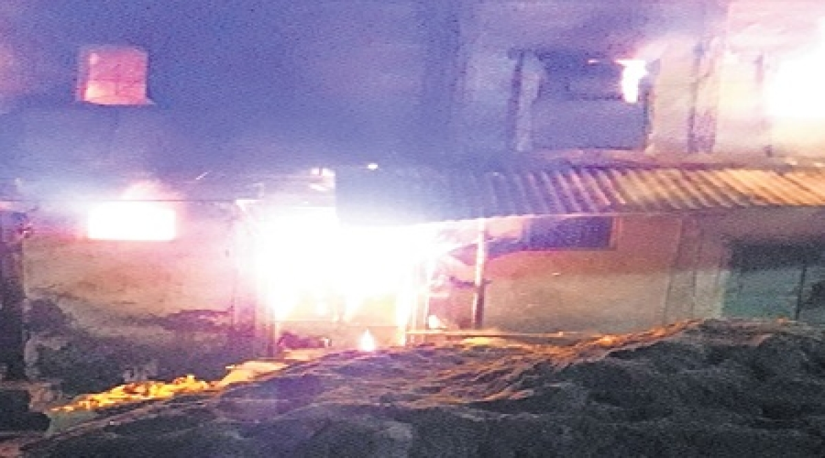 Indore: Elderly couple, grandson charred to death