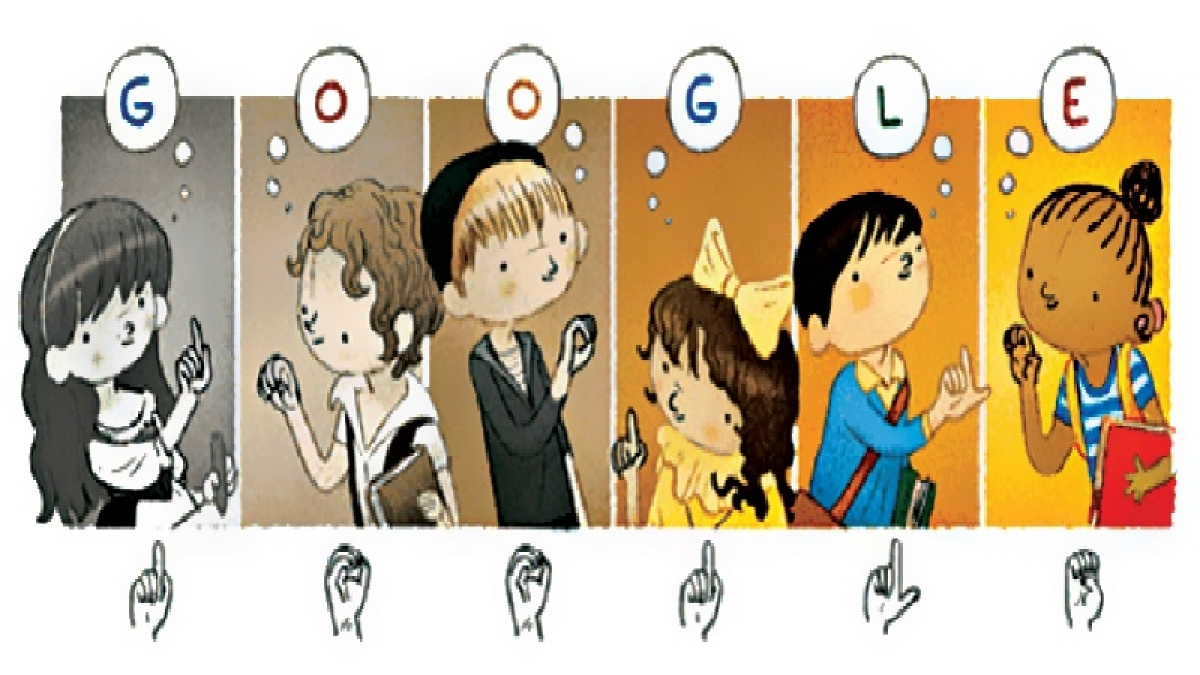 Google Doodle pays tribute to 'Father of the Deaf'