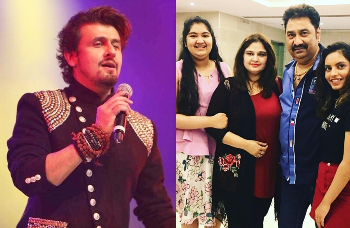 Sonu Nigam collaborates with Kumar Sanu's daughters Shannon K, Annabel