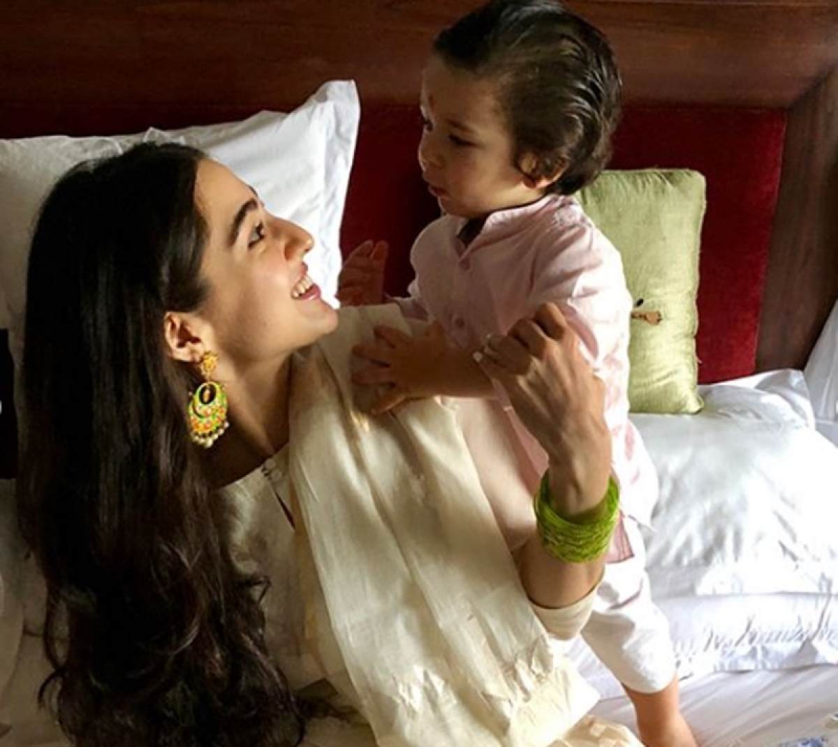 Junior Nawab Taimur has a 'special' name for sister Sara Ali Khan; find out