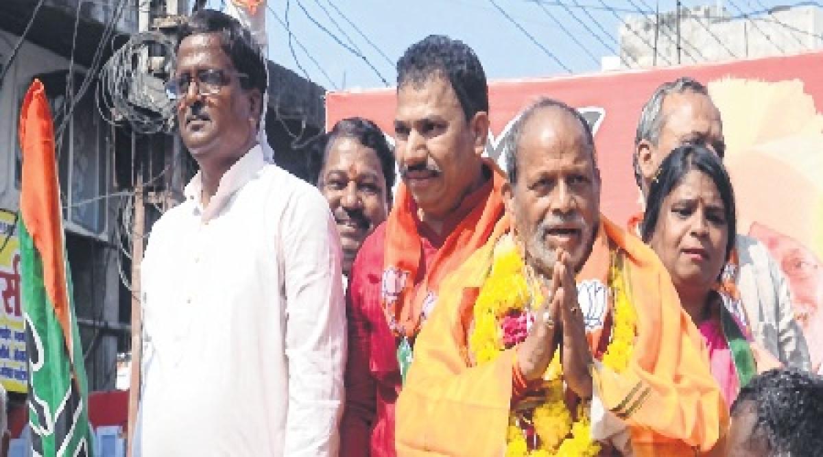 Ujjain: Paras Jain files nomination