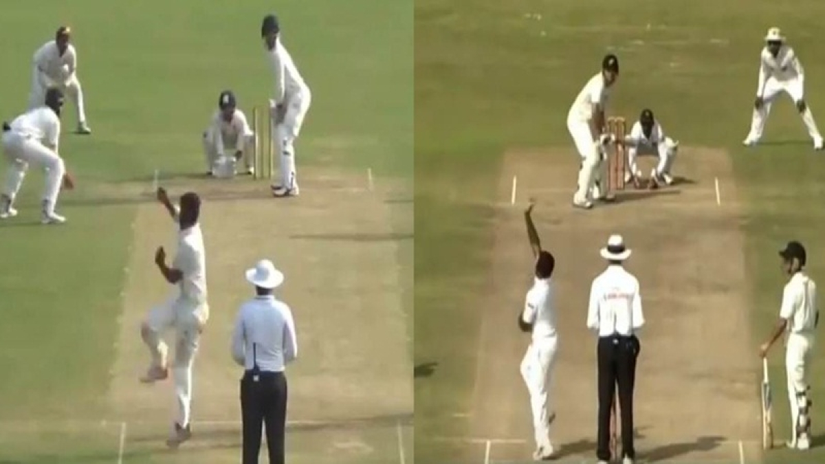 Carbon Copy? Shiva Singh's bizarre bowling action is uncannily similar to this Sri Lankan legend at point of release