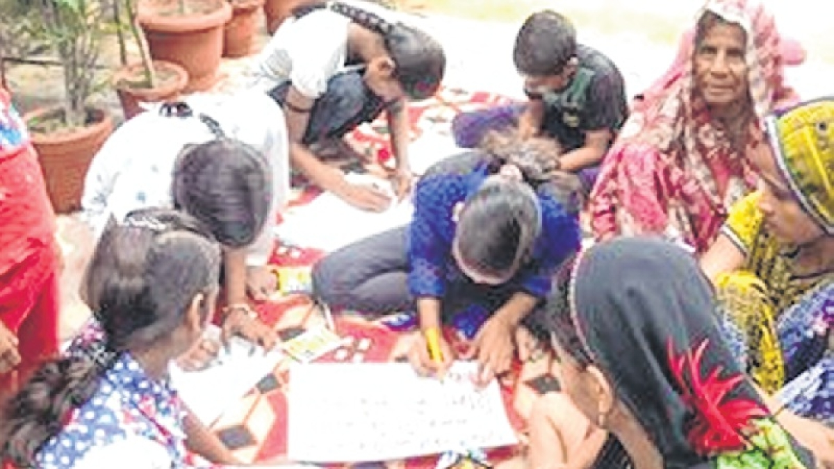 Mumbai: Fireworks are passe, students fired up with creative zeal