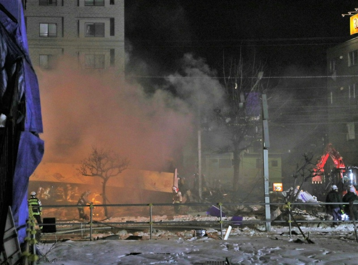 42 people injured in Japan restaurant explosion