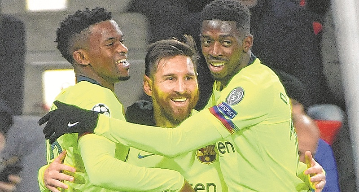 Champions League: Dembele in Barca squad against United