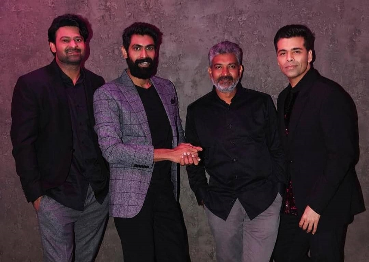'Baahubali trio Prabhas, Rana Daggubati and SS Rajamouli finally grace Karan Johar's 'Koffee With Karan'