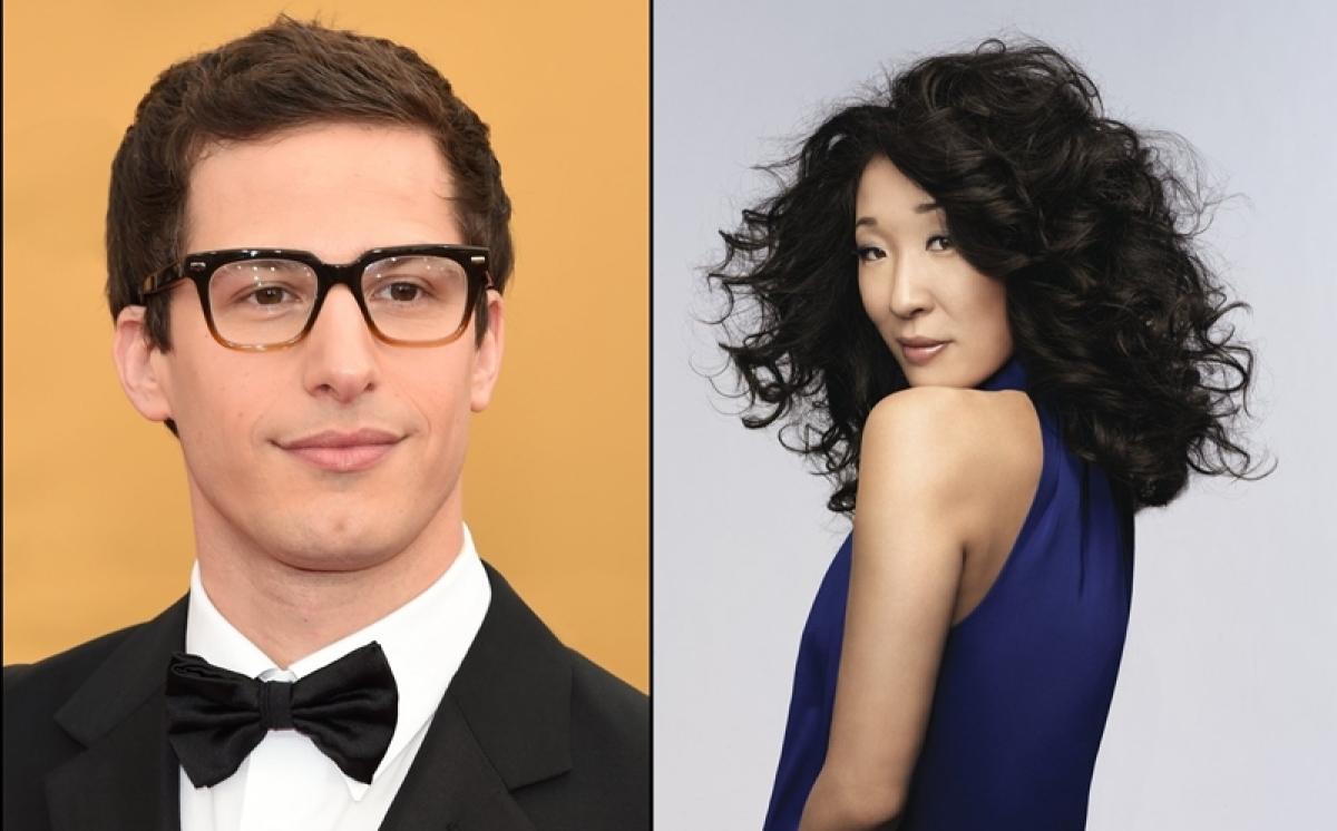 Sandra Oh, Andy Samberg to host 76th Golden Globes