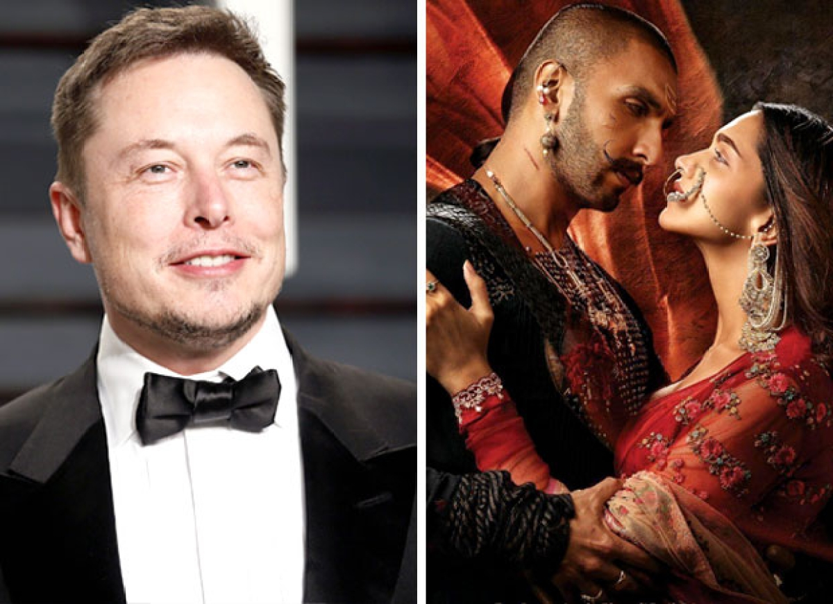 Elon Musk shares Ranveer-Deepika's 'Bajirao Mastani' song; sends fans into frenzy
