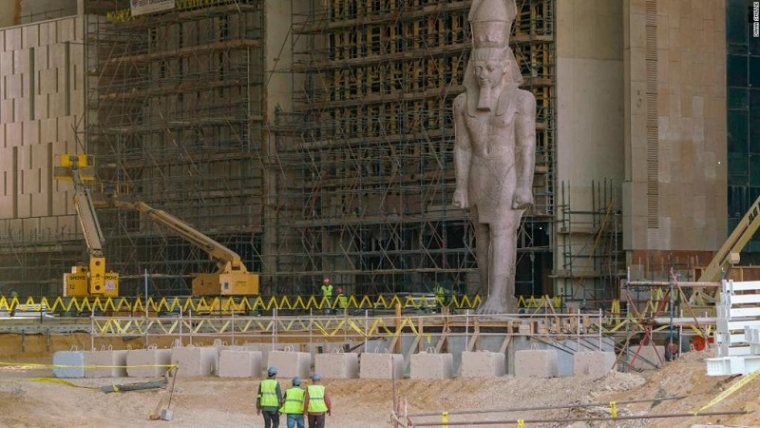 After delays, Egypt's mega-museum to open in 2020