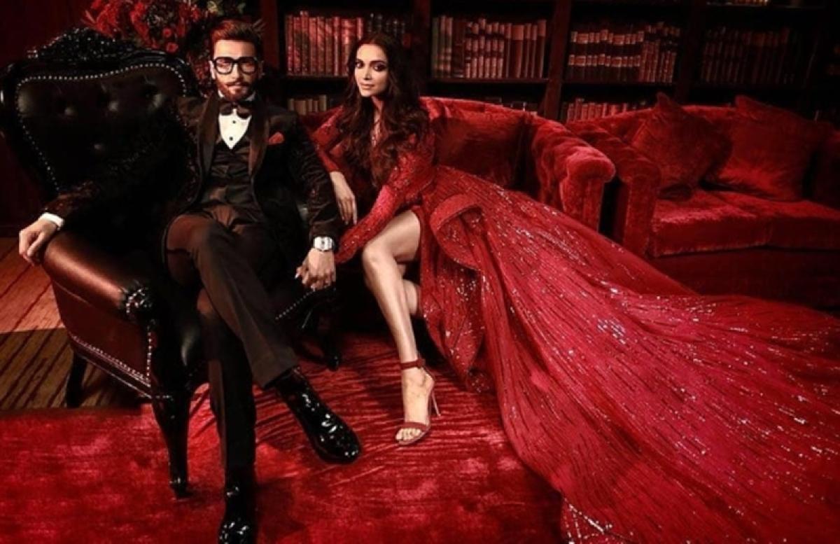 DeepVeer Mumbai reception: Newlyweds Deepika-Ranveer look ethereal in these jaw dropping pictures