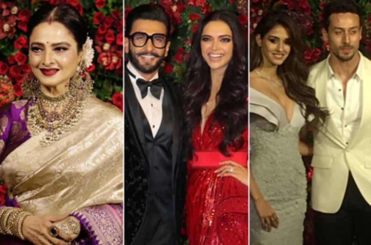 From Tiger-Disha, Bachchans to Rekha, Bollywood celebs arrive in style for DeepVeer's reception in Mumbai