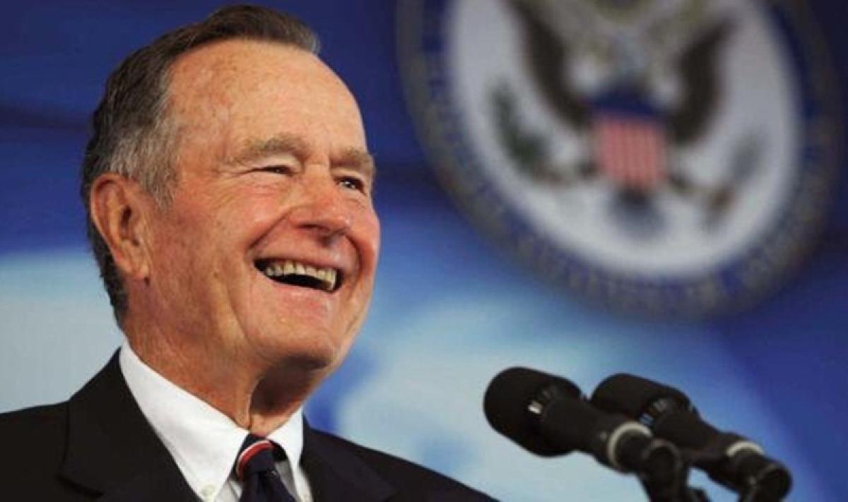 Former US president George HW Bush dies at 94