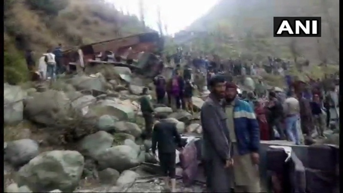 Jammu and Kashmir: 11 people killed, several injured as bus falls into gorge in Poonch