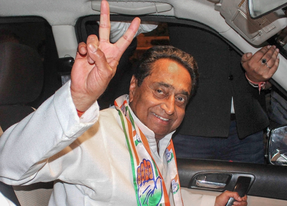 Kamal Nath to take oath as CM today