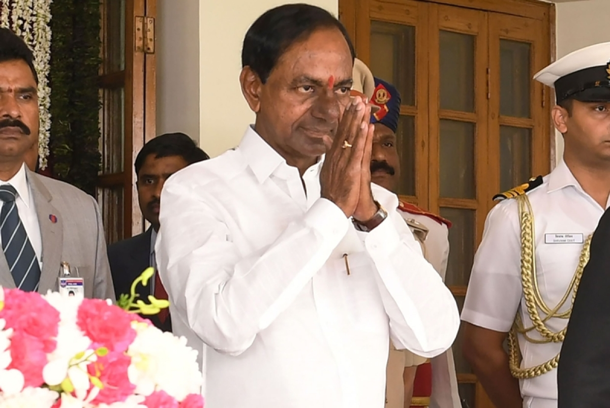 KCR playing into BJP'S hands