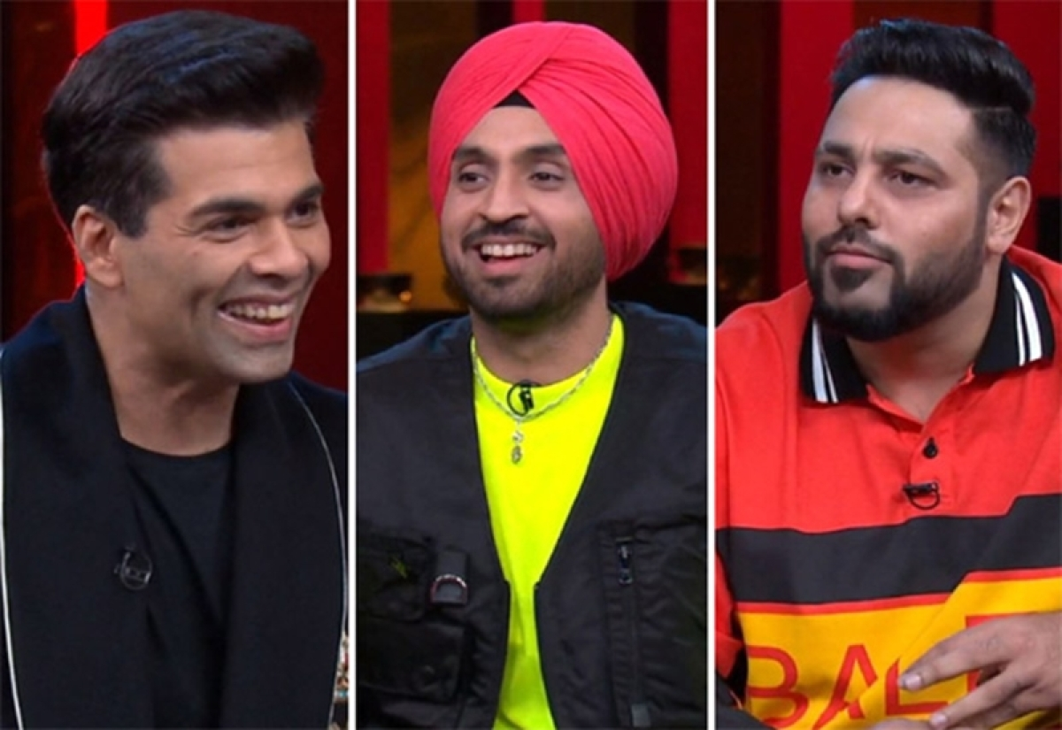 Koffee With Karan 6: From obsession with Kylie Jenner to first performance at gay club, Diljit Dosanjh-Badshah get witty and candid on KJo's show
