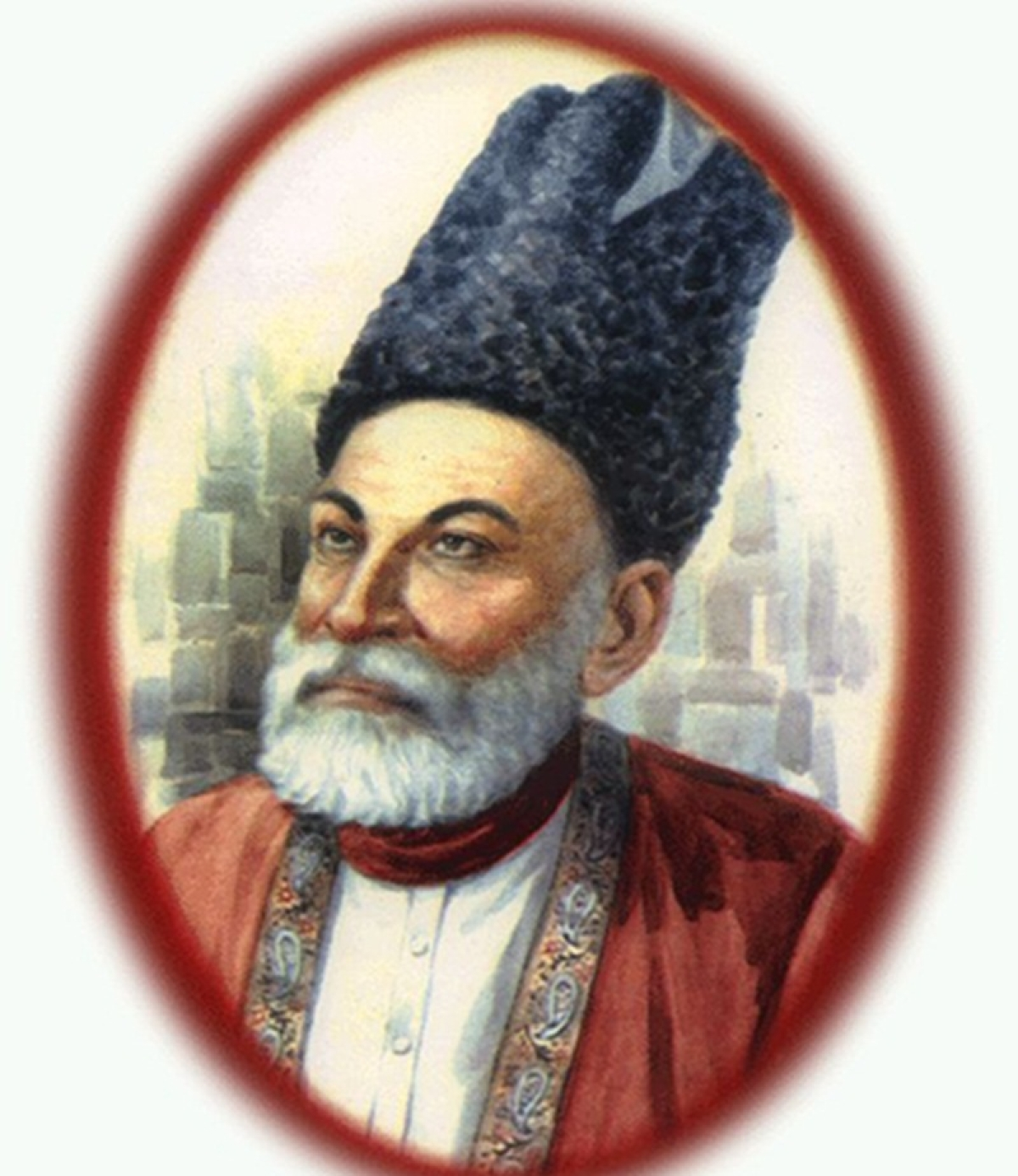Why Mirza Ghalib can't be considered as a great Persian poet