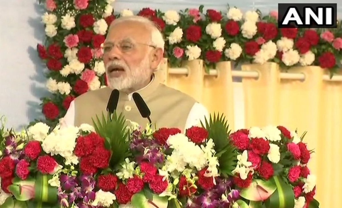 PM Modi lays foundation stone of Rs 33,000 crore Thane metro links, mass housing project