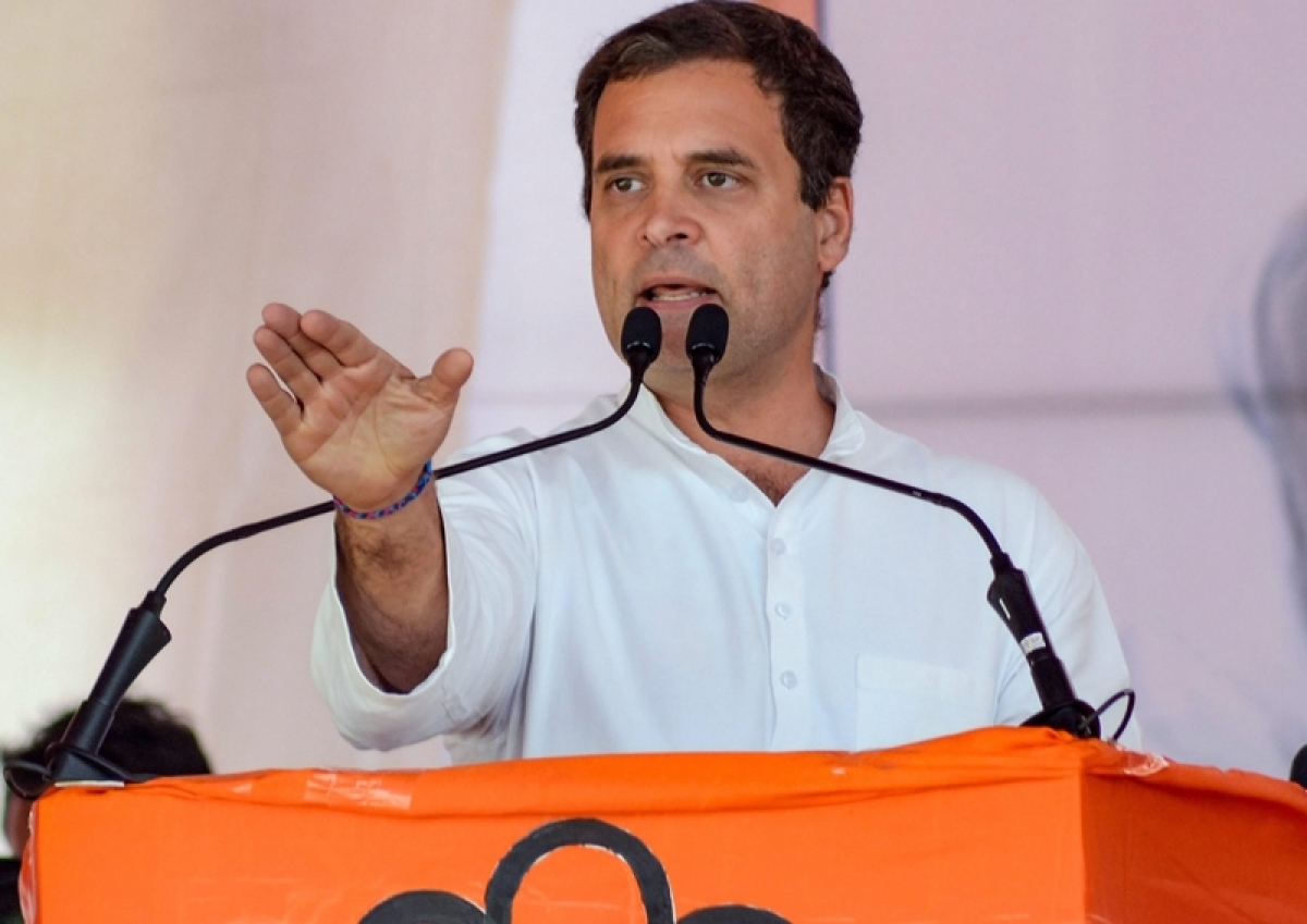 Rahul Gandhi newspaper interview paid news; take action action him, Congress: BJP to EC