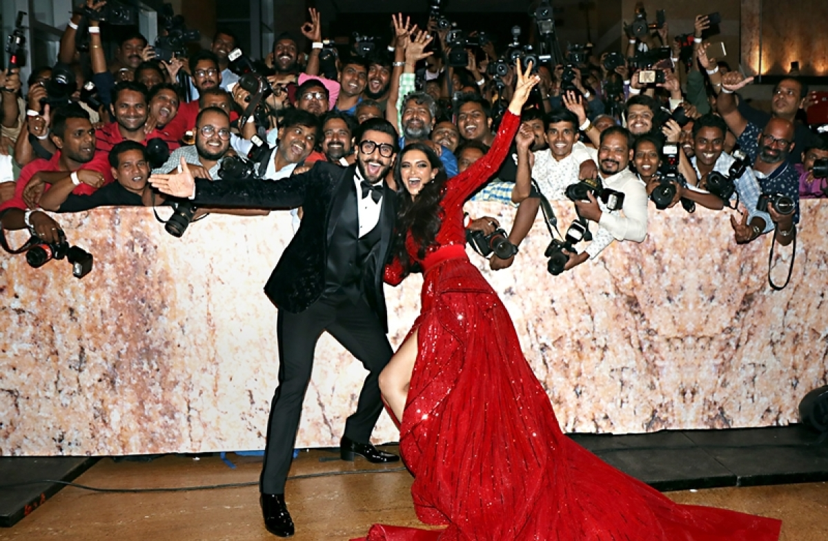Deepika Padukone does this to Ranveer Singh - and it's pretty much all of us