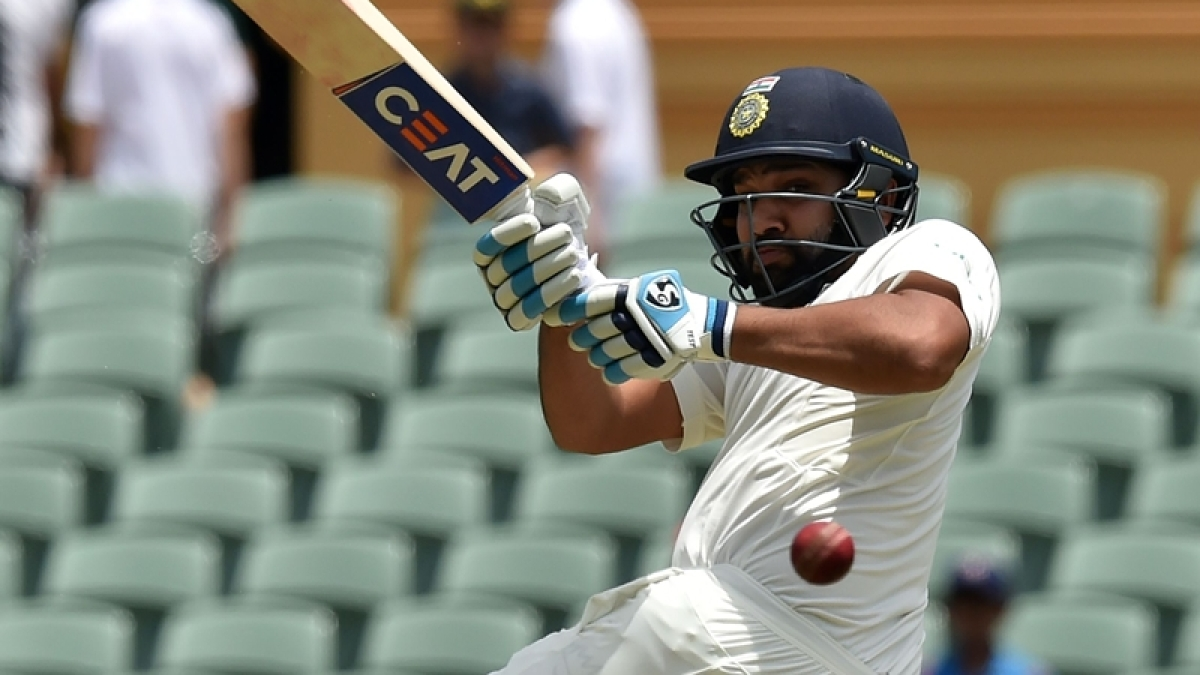Zero for Rohit Sharma in first match as Test opener