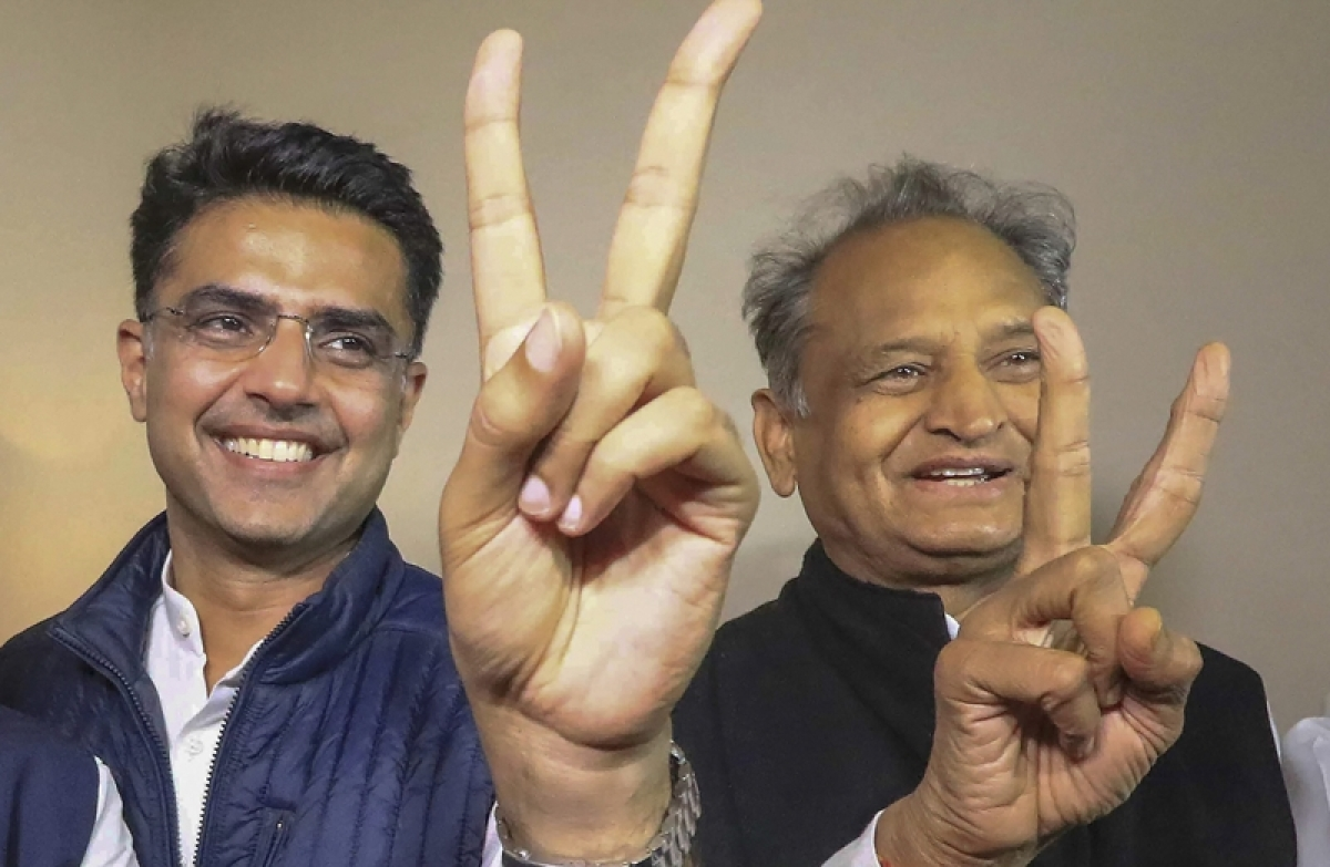 Congress wins Ramgarh election, touches 100 tally in Rajasthan