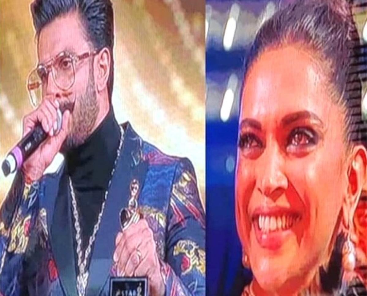 Watch Deepika get teary-eyed after husband Ranveer Singh's speech at an award show