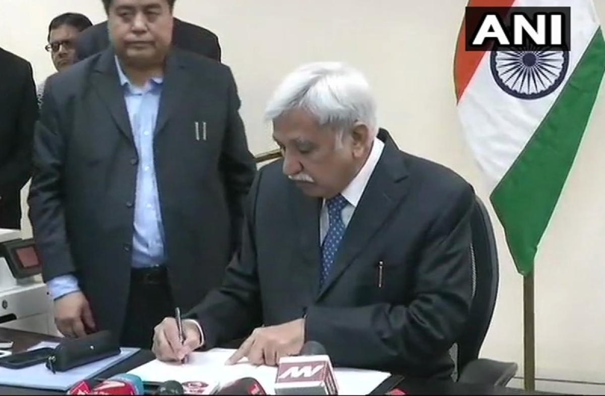 Sunil Arora takes over as 23rd Chief Election Commissioner, vows free and fair national poll