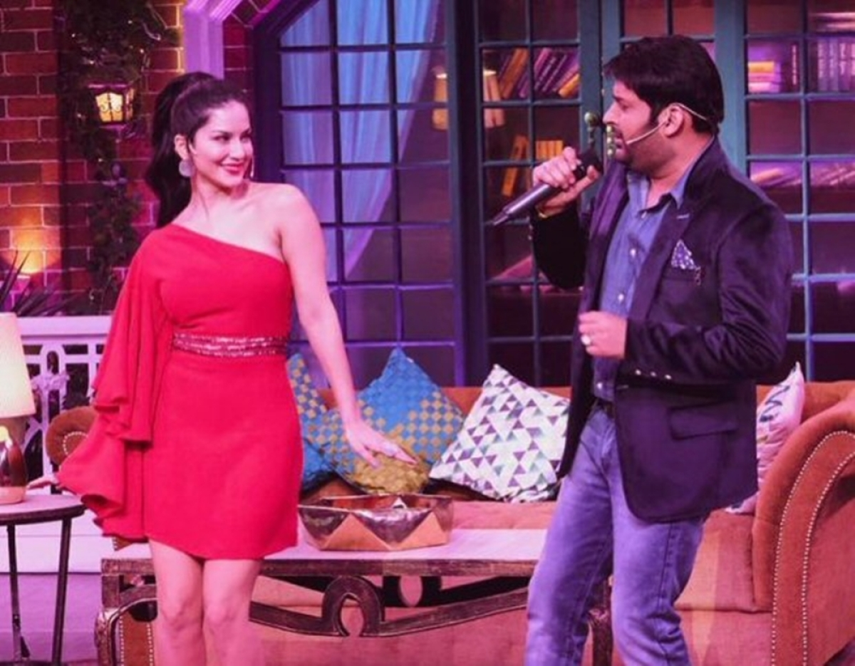 Sunny Leone dances her heart out on 'The Kapil Sharma Show'
