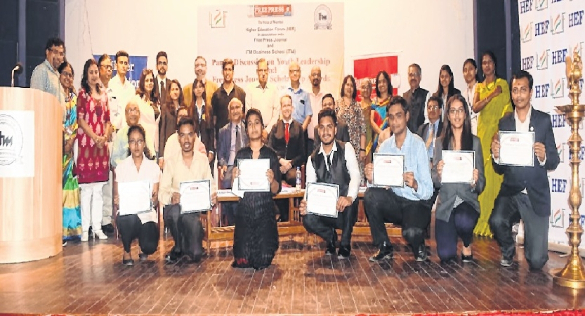 The Free Press Journal Scholarship Awards: Creating youth leaders for changing the future of India