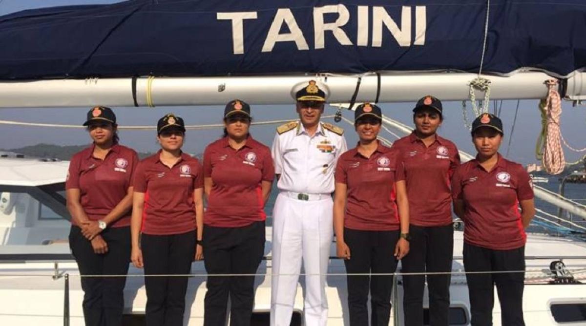 On Board INSV Tarini! When an all women crew circumnavigated the globe