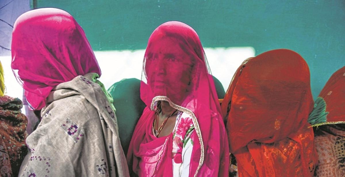 Rajasthan records 74 % turnout; Telangana 67 %