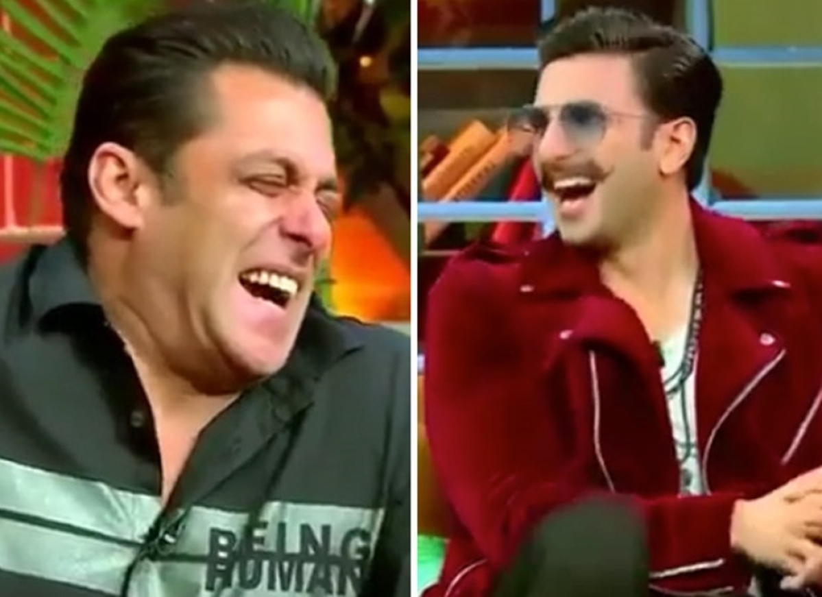 Watch Kapil Sharma make Salman Khan, Ranveer Singh go ROFL on his show