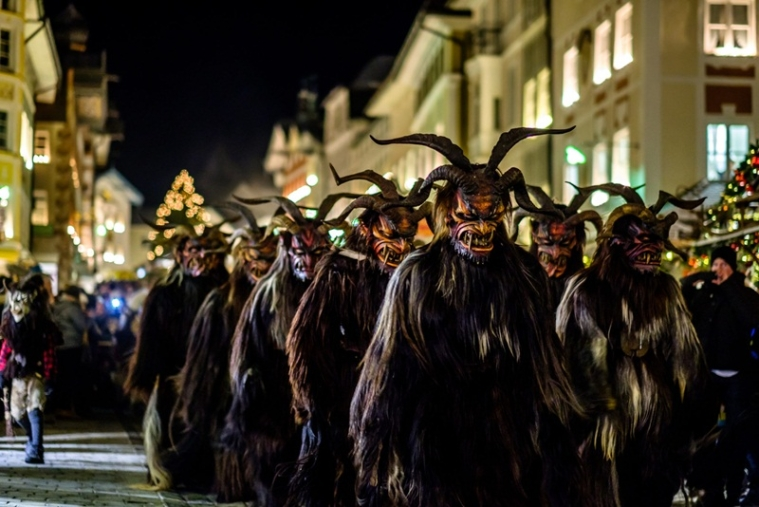 Krampus Parade in Vienna