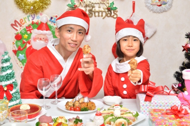 X'mas in Japan is finger lickin'good!