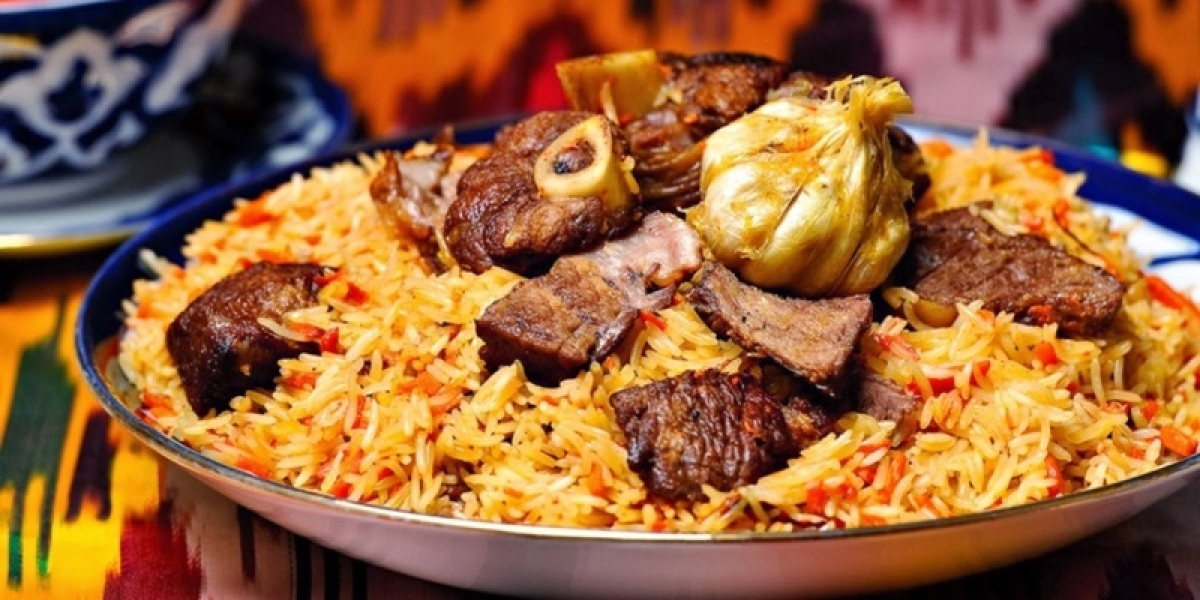 Plov or palov is the national dish of Uzbekistan