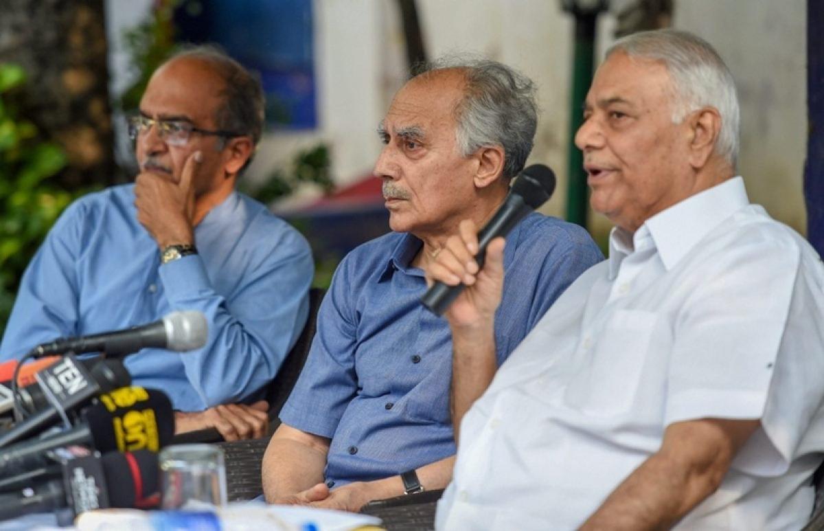 Yashwant Sinha, Arun Shourie say 'shocking' SC verdict no clean chit for Narendra Modi