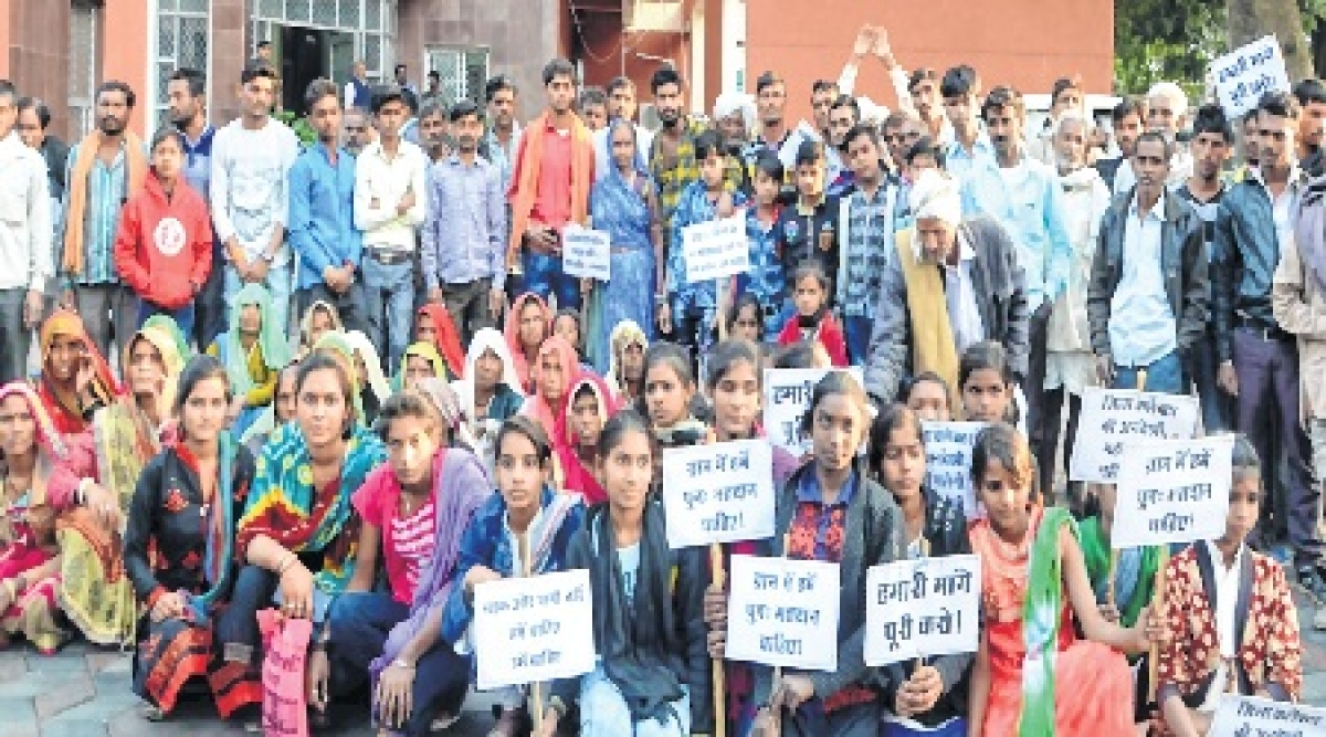 Bhopal: After voting boycott villagers want Election Commissionto meet their demand