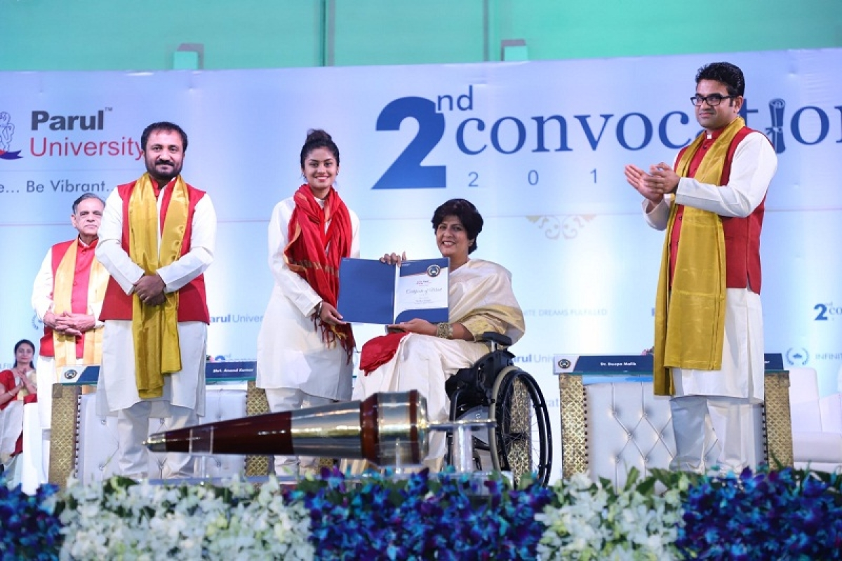 Infinite Dreams Possible: Second Convocation at Parul University