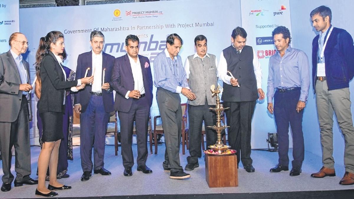 Mumbai can be global if it's slum-free: CM Devendra Fadnavis