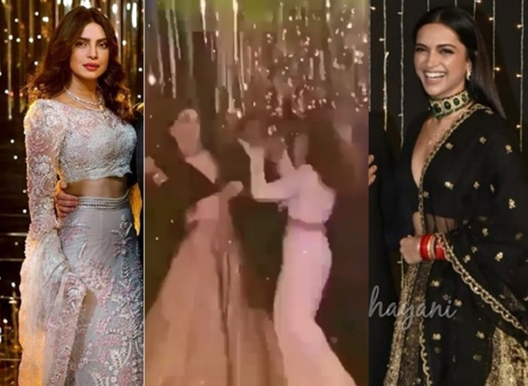 Watch Deepika-Priyanka in a 'Pinga' dance-off at Nickyanka's wedding reception